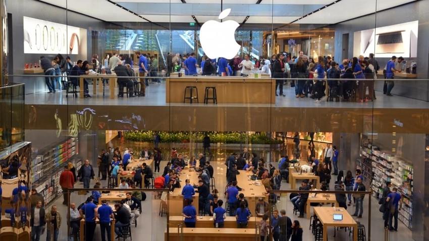 Apple Store Hırsızları Yakayı Sonunda Ele Verdi!