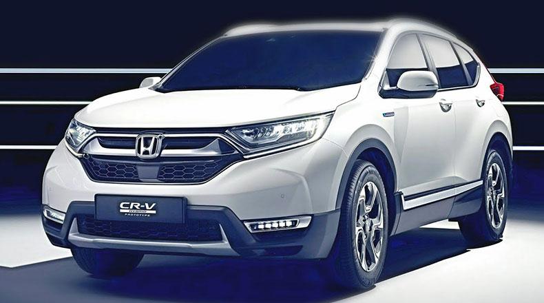Honda CR-V Hibrit