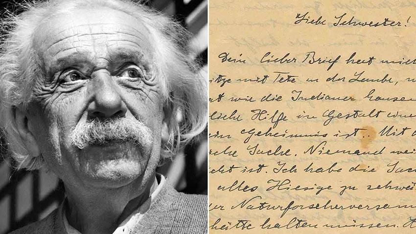 Albert Einstein Uyarı Mektubu