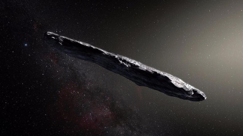 Oumuamua uydu