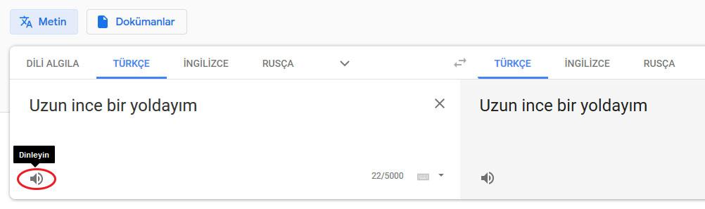 Google Çeviri Ses Dosyaları Nasıl İndirilir 1