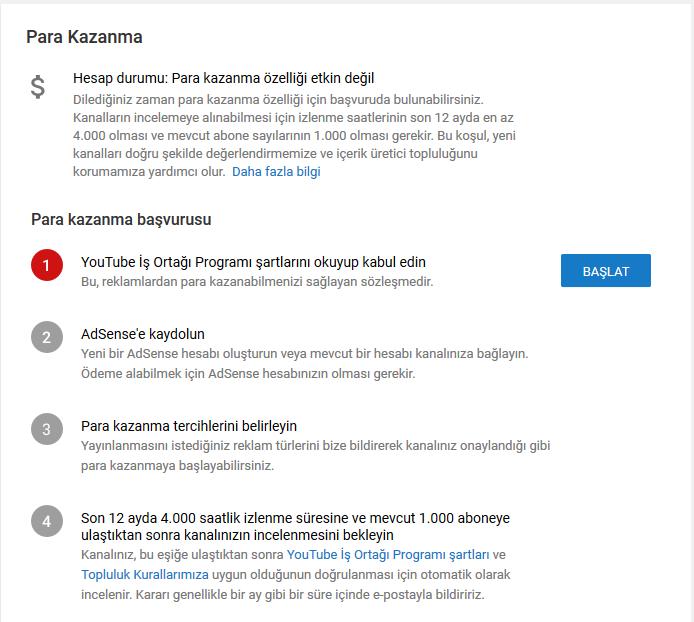 Youtube ile para kazanma rehberi