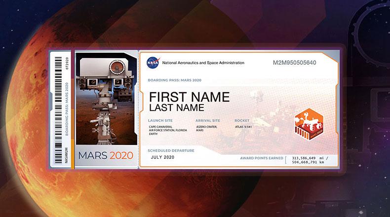 NASA 2020 Mars 2