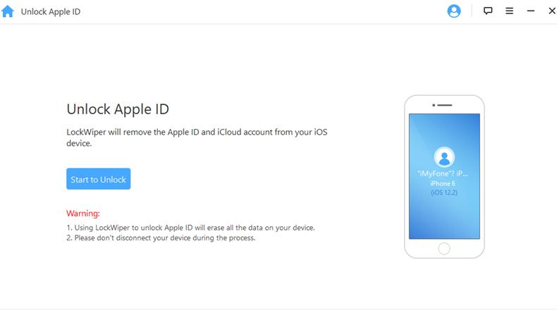 iMyfone Unlock Apple ID 3