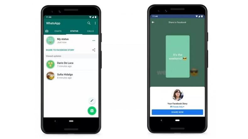 WhatsApp Durum özelliği