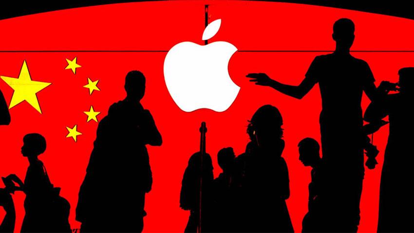 Çin Apple Mobil Uygulama Tepkisi