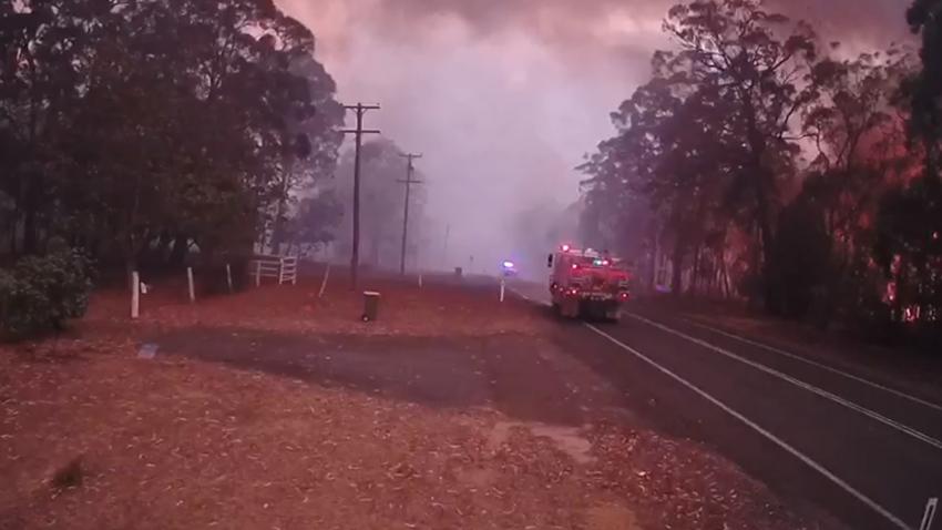 avustralya orman yangını hızı