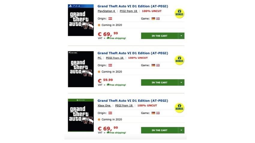 GTA 6 Çıkış Tarihi ve Fiyatı Sızdırıldı1