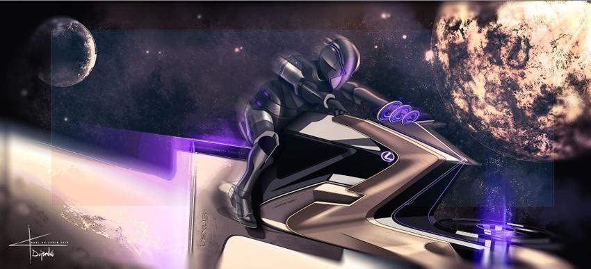Lexus'tanAy'da Kullanabilecek Araç Konsepti