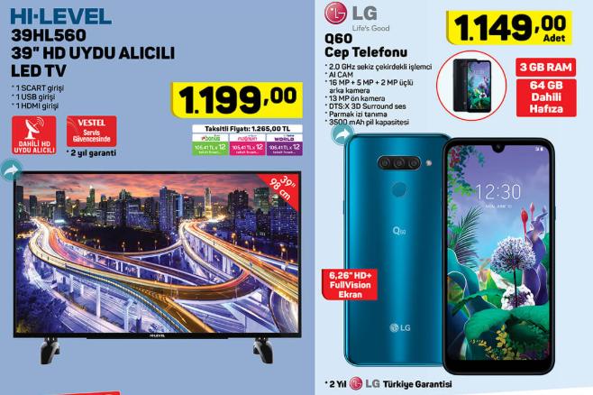 Hi Level 39HL560 39'' HD Uydu Alıcılı Led TV  LG Q60