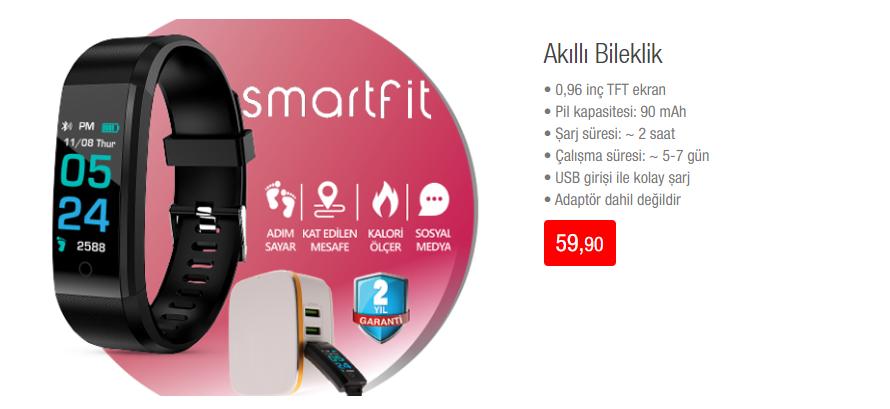 Smartfit Akıllı Bileklik