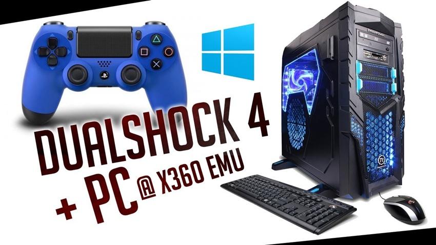 DualShock 4 PC'de Kullanma