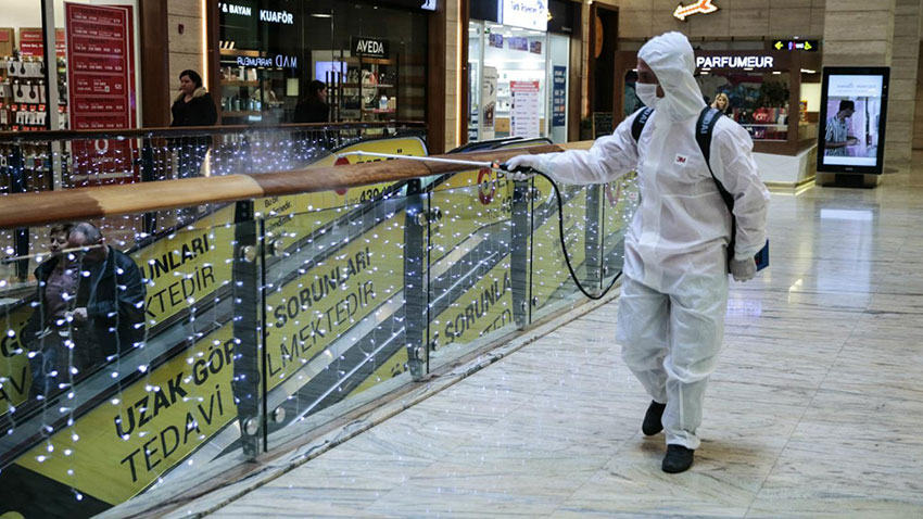 Korona Virüs İzmir AVM
