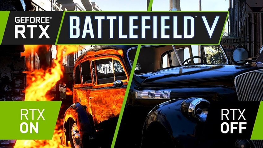 Battlefield V Ray Tracing on off