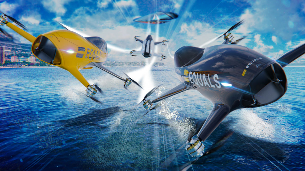 Alauda Elektrikli Uçan Araba Yarışları