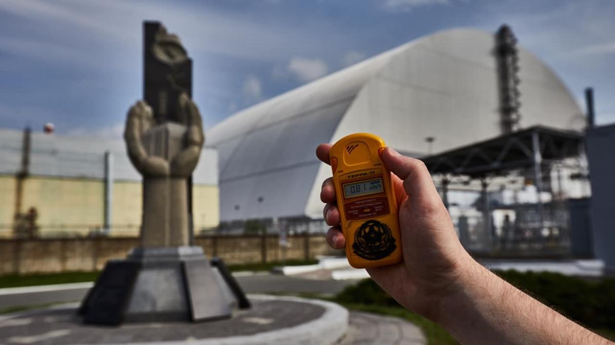 çernobil orman yangını radyasyon