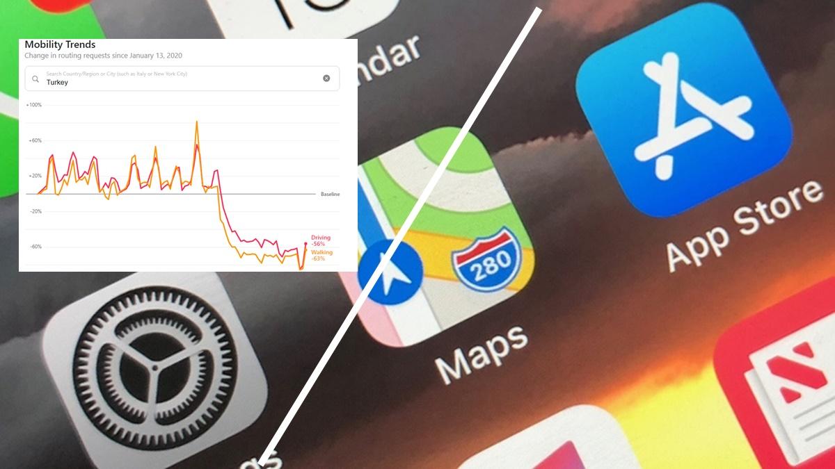 Apple, Hareketlilik Verilerini Paylaşacak! İnternet Sitesi Yayında