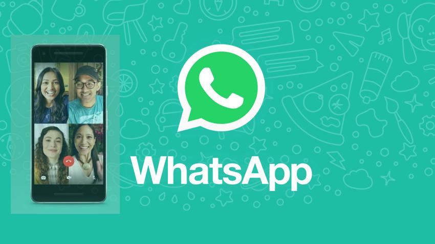WhatsApp'ta Aynı Anda 4 Kişiye Kadar Görüntülü Konuşun