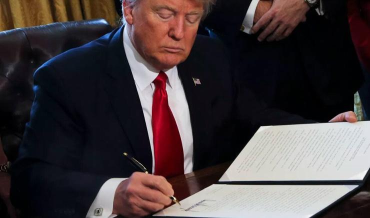 Trump Kararnameyi Onayladı