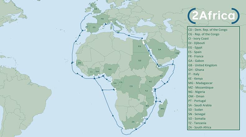 Facebook Afrika İnternet Altyapısı 2