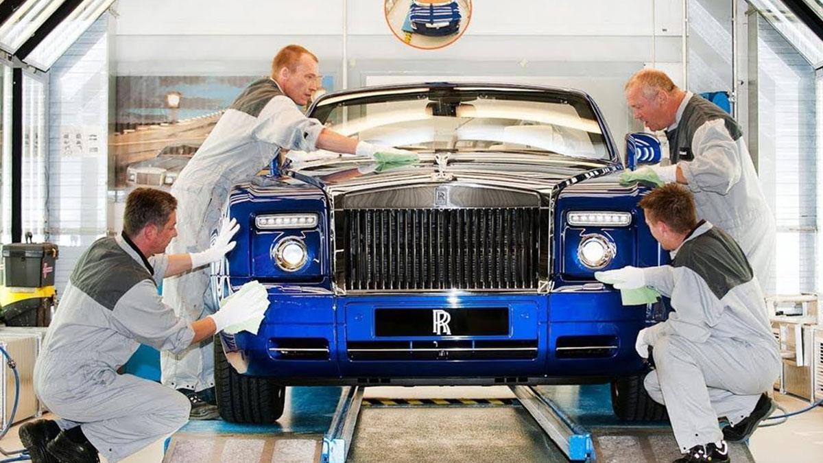 Rolls Royce İngiltere
