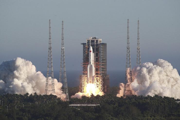 Çin 2022 Yılında Uzay İstasyonunu Bitirmeyi Planlıyor