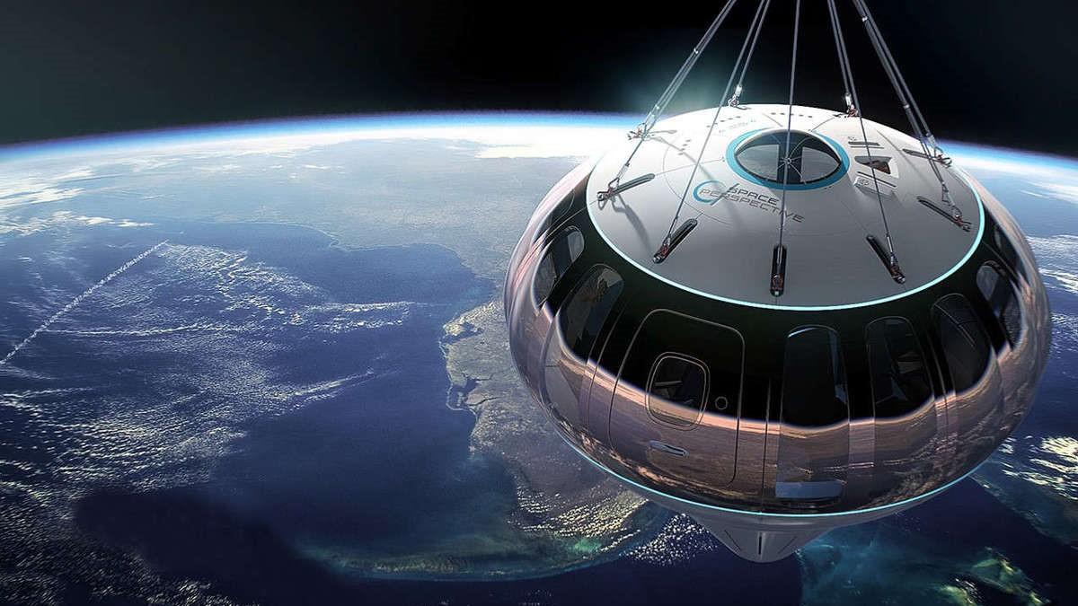 Balonla Uzaya Çıkmak Mümkün Olacak -1