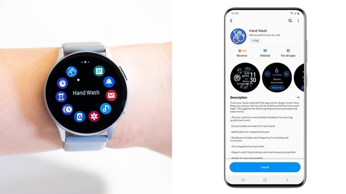 Galaxy Watch El Yıkama Bildirimi ile Kullanıcıları Uyaracak!