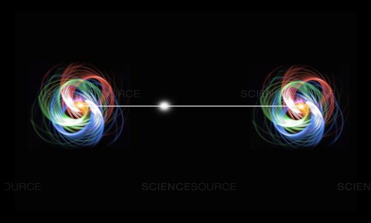 Kuantum Dolanikligini Test Etmek Uzere 15 Trilyon Atom Birbirine Baglandi