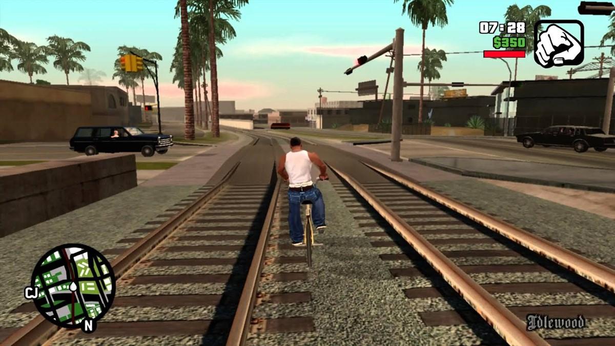GTA: San Andreas PlayStation 5'te Nasıl Görünürdü? -2