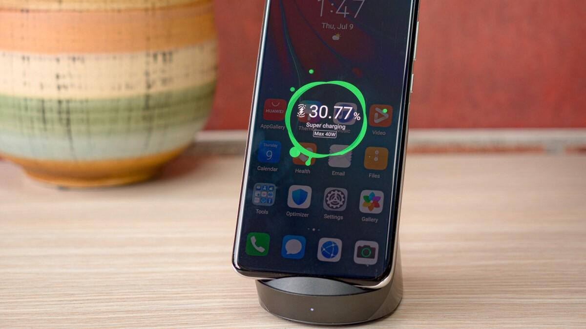 Huawei 40W Kablosuz Şarj Kiti Ne Kadar Hızlı? -2