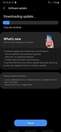 Note 20 ve Note 20 Ultra Satışa Çıkmadan Güncelleme Aldı