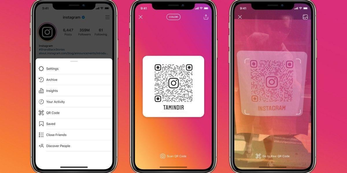 Instagram QR Kodu Özelliği
