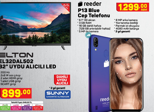 reeder-p13-elton-el32dab3037-32-uydu-alicili-led-tv