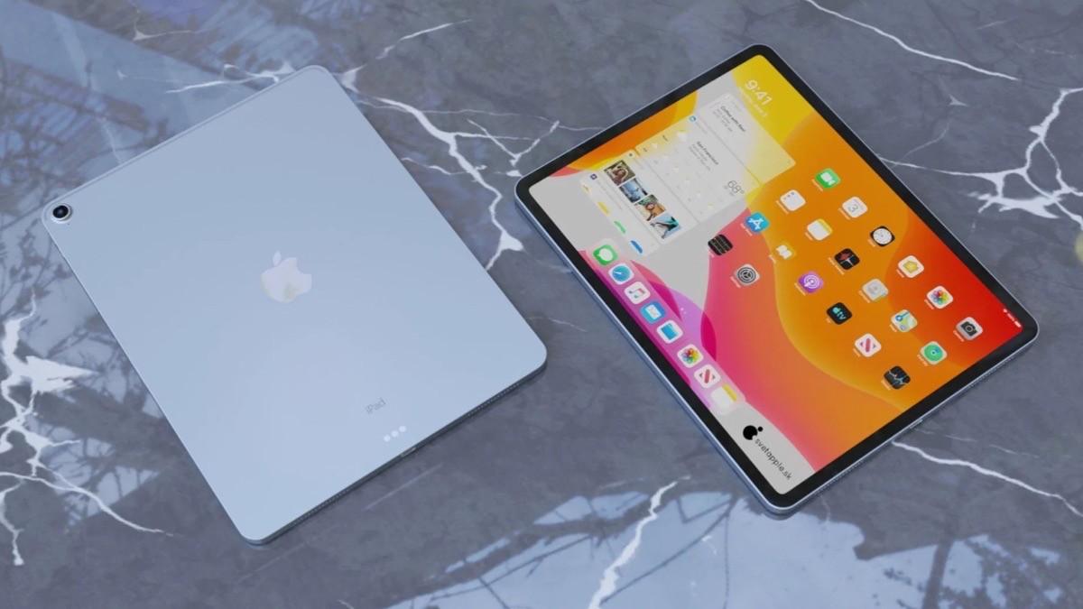 iPad Air 4 Konsept Tasarım