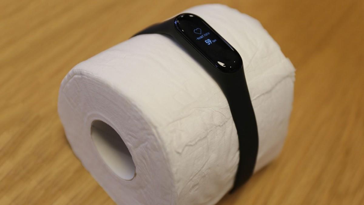 Mi Band Tuvalet Kağıdının Nabzını Ölçtü