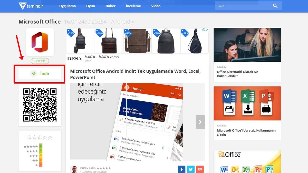 Microsoft Office'i Ücretsiz Kullanmanın Yolları -4