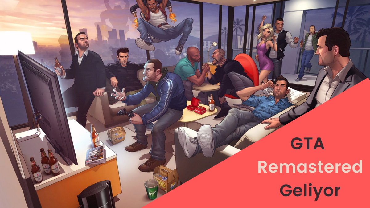 GTA The Trilogy Remastered Geliyor