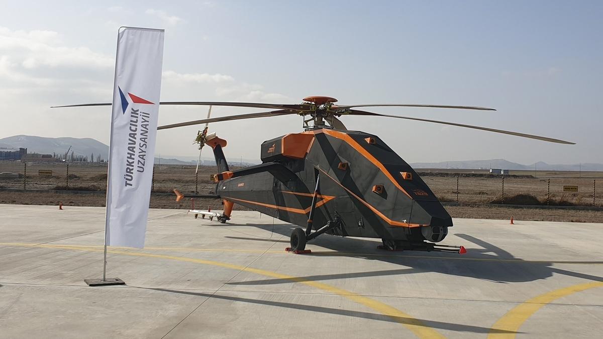 TUSAŞ T-629 Elektrikli Taarruz Helikopteri
