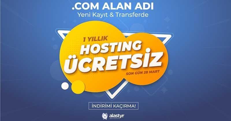 Domain ile Ücretsiz Hosting