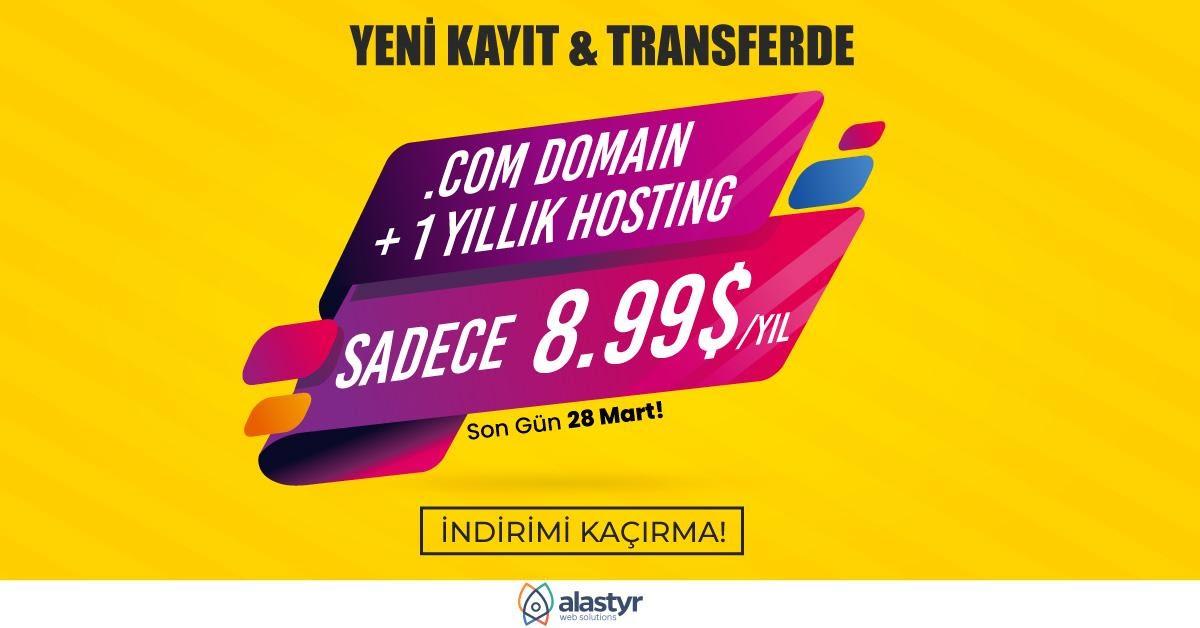 Domain ile Ücretsiz Hosting -2