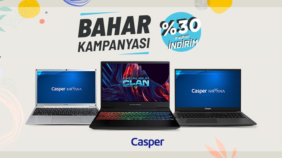 Casper Büyük Bahar Kampanyası Devam Ediyor!