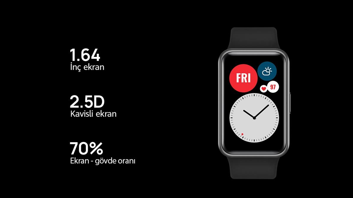 Huawei Watch Fit Elegant İnceleme -1