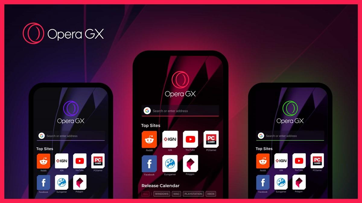 Opera GX Android ve iOS için Kullanıma Sunuluyor!