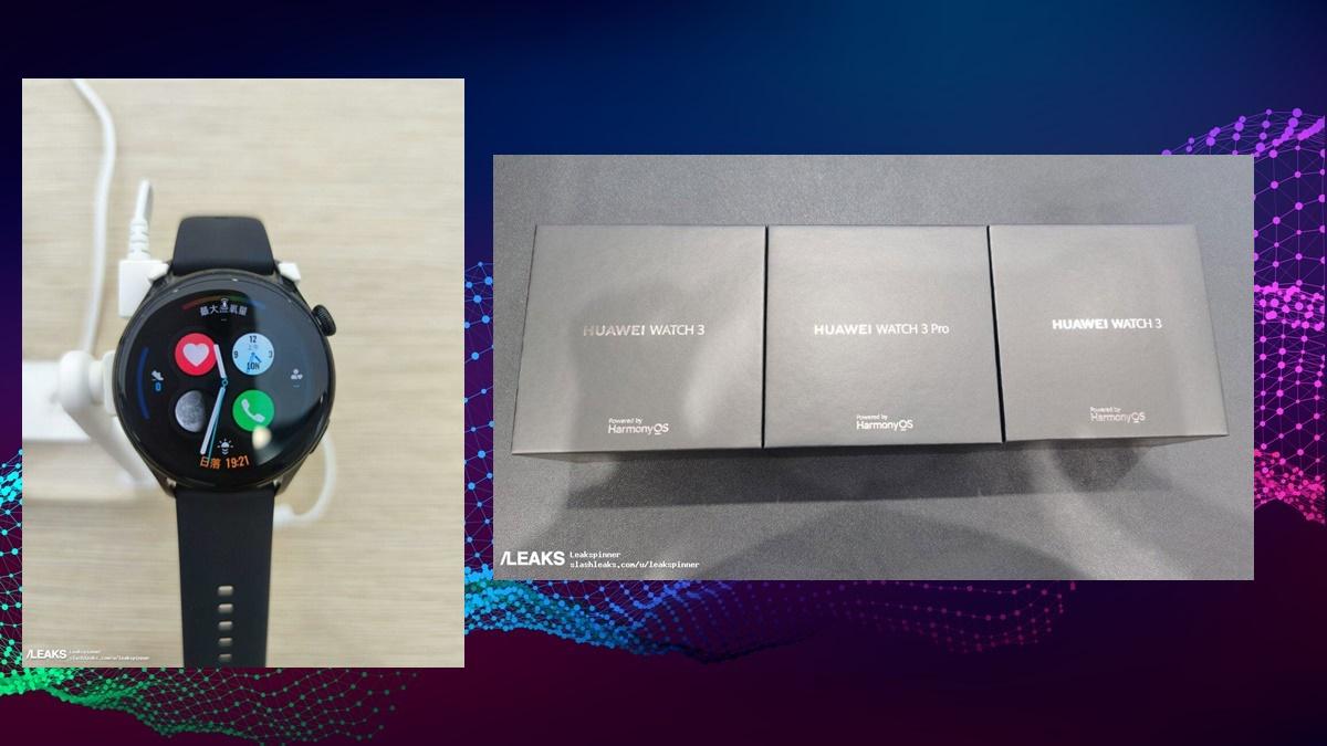 Huawei Watch 3 Sızdı