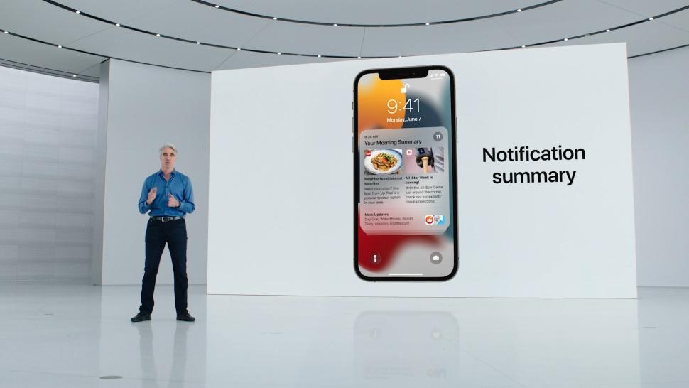 iOS 15 Bildirimler