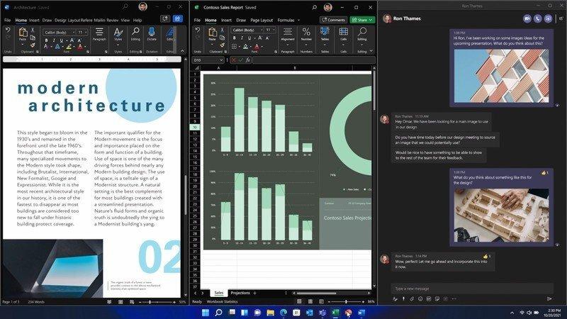 Windows 11 Çoklu Görevler