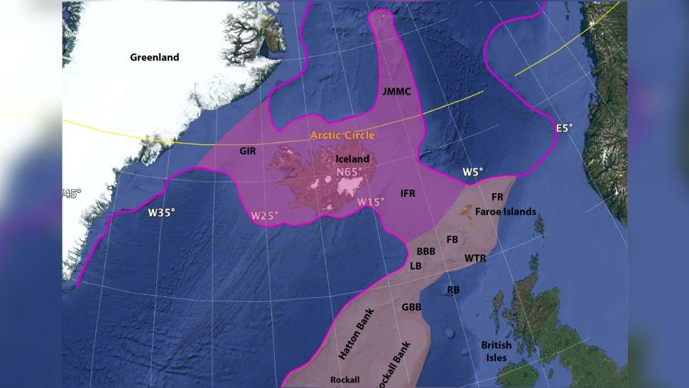 Icelandia İzlanda Batan Kıta