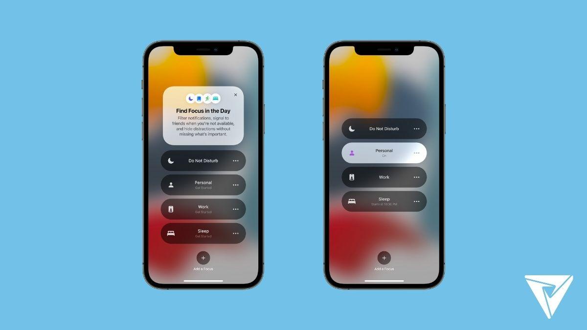 iOS 15 Yenilikleri: Odak Modu