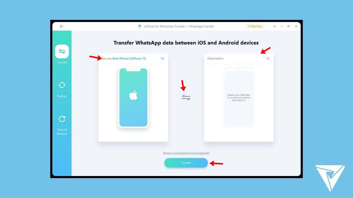 UltFone WhatsApp Transfer -2